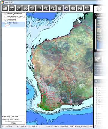 what documents included with gis application